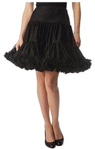 Betsey Johnson Skirt Blac