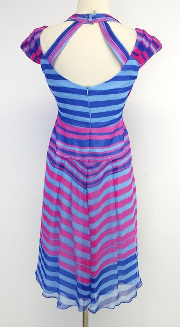 Nanette Lepore short dress Tatent Showed Striped Silk on Tradesy