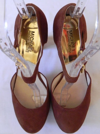 Michael Kors Brown Platforms Image 2