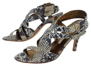 Twelfth St. by Cynthia Vincent Snakeskin Heels Sandals