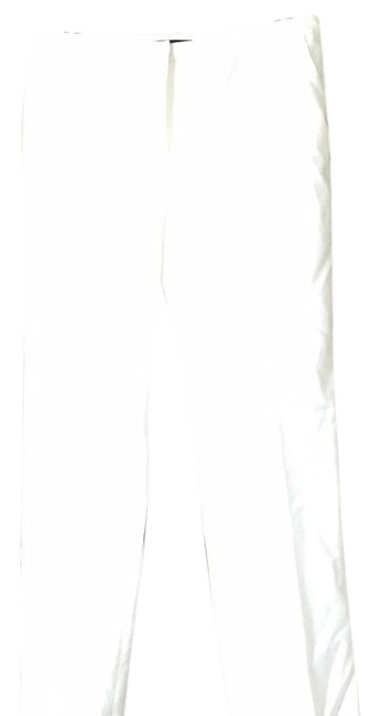 Tahari Straight Pants White