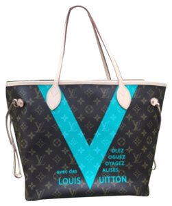 Louis Vuitton Tote in Turquoise V