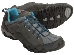 Columbia Sporty Trail Shoe Charcoal, Blue Ice Athletic