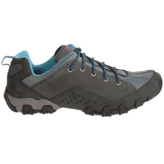 Columbia Sportswear Company Sporty Trail Water-resistant Stain Resistant Suede Charcoal, Blue Ice Athletic