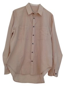 Creatures of Comfort Button Down Shirt Biege