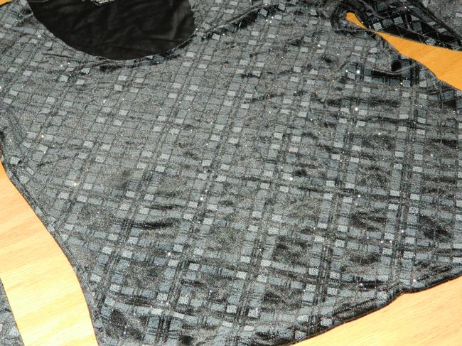 Willi Smith Top Black and Silver