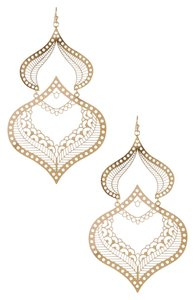 Bansri New! Bansri Ikeana Filigree Earrings