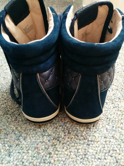 Vince Camuto Blue Wedges