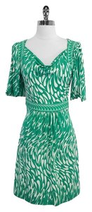 BCBGMAXAZRIA short dress Print on Tradesy