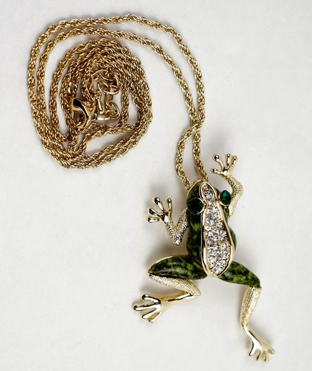Other Green Frog Necklace