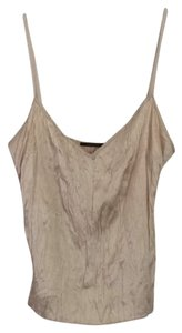 Elie Tahari Top Light Tan