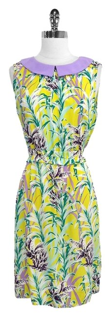 Kate Spade short dress Botanical Print Silk Blend on Tradesy