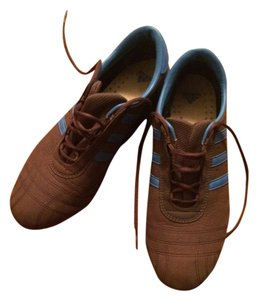 adidas Flats Soccer Classic Sports Brown Athletic