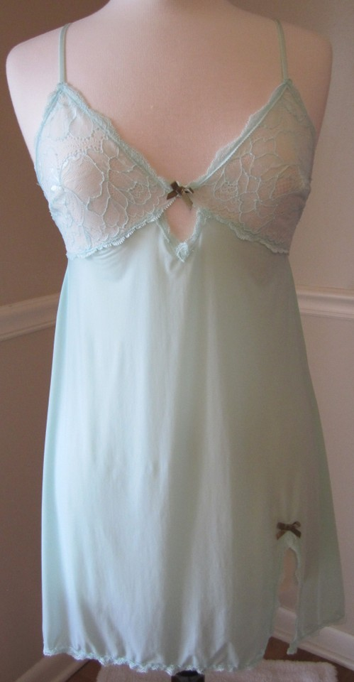 Victoria\'s Secret Aqua Vs Chemise Gown - Tradesy