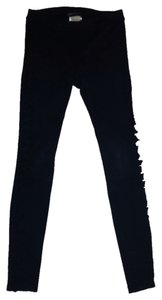 Citizens of Humanity Coh Nwot Skinny Cut-out Leg Panels Black Leggings