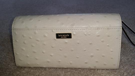 Kate Spade Kate Spade Bow Ostrich Leather Wallet