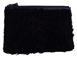 Proenza Schouler Black/Blue Clutch