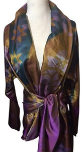 Etro multi/purple/brown Blazer
