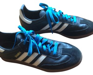 adidas black with turquoise laces Athletic