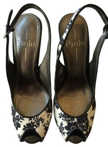 Linea Paolo Black and white Pumps