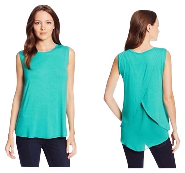 Preload https://item4.tradesy.com/images/kenneth-cole-green-fish-tail-tank-topcami-size-petite-4-s-4397308-0-0.jpg?width=400&height=650