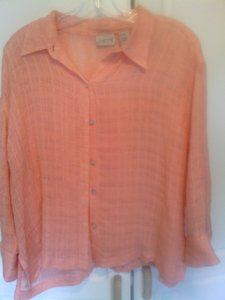 Chico's Top peach