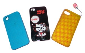 Kate Spade Lot of 3 Iphone 4 S cases Kate Spade, Juicy couture, Hello Kitty