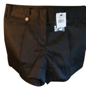 BCBGMAXAZRIA Nwt New Soft Mini Mini/Short Shorts Black