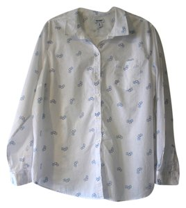 Old Navy Button Down Shirt Print