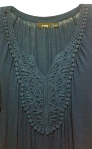 Apt. 9 Embellished Rayon Comfortable Casual Crochet Tunic