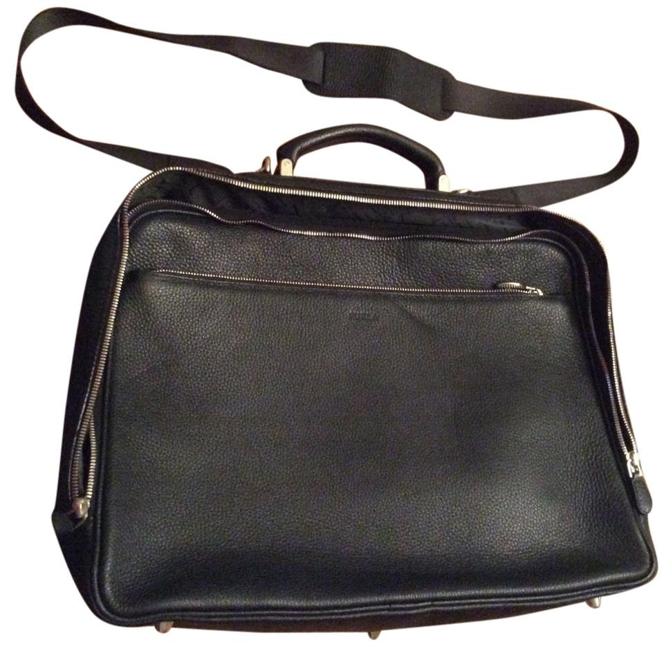 Bag Laptop Furla Pebbled Black Leather zpOq6U