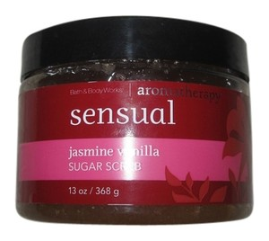 Bath and Body Works Bath & Body Works Aromatherapy Sensual Jasmine Vanilla Sugar Scrub 13 oz NEW