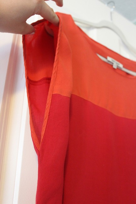 Daniel Rainn Top Orange, red, pink