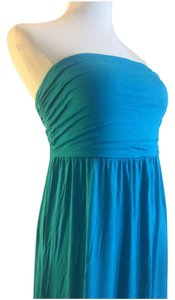 34e76eb9057 Old Navy Teal Strapless Long Casual Maxi Dress Size 8 (M) - Tradesy