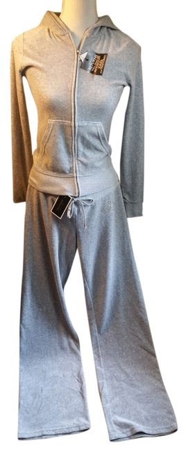 Juicy Couture Juicy Couture Crystal Embellished Velour Track Suit