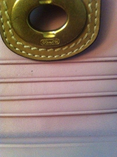 Coach Coach Nude Leather Wallet