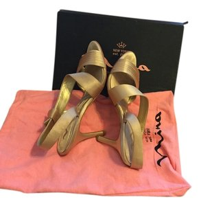 Nina Shoes Gold Sandals