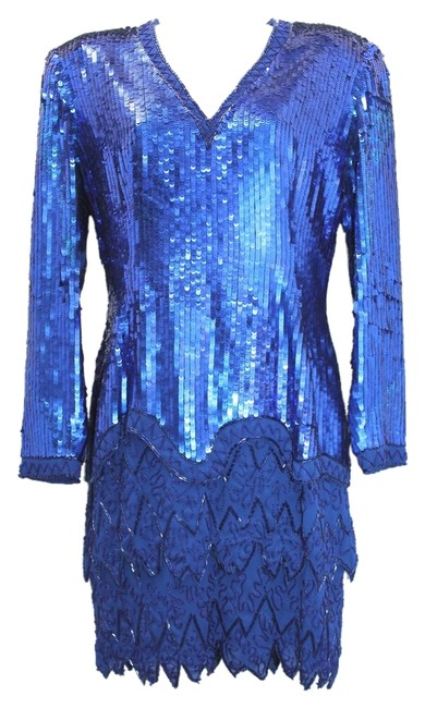 Preload https://item4.tradesy.com/images/fabrice-silhouette-embellished-blue-evening-mid-length-formal-dress-size-6-s-4401058-0-0.jpg?width=400&height=650