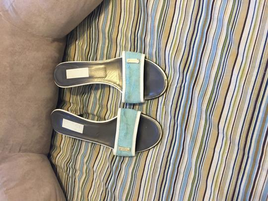 Gucci Baby blue Mules