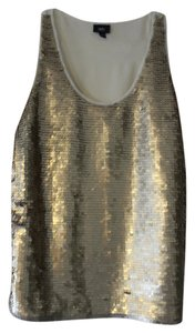 Mossimo Supply Co. Matte Top Gold sequin