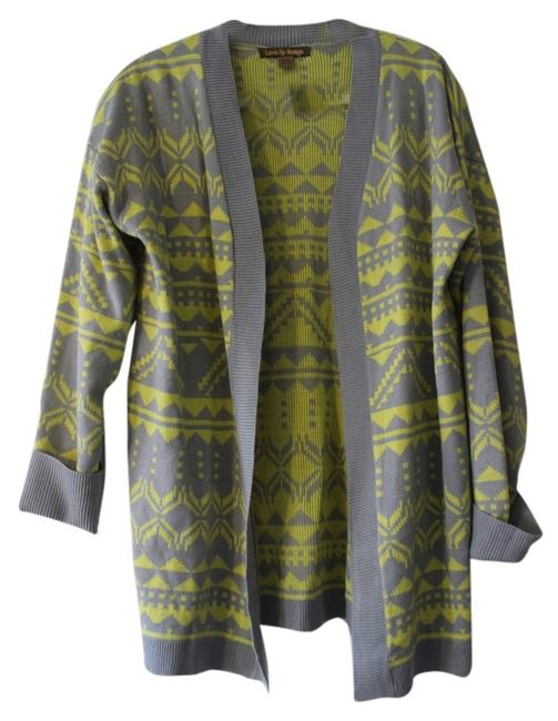 Preload https://item2.tradesy.com/images/love-by-design-gray-and-yellow-sweaterpullover-size-16-xl-plus-0x-4401541-0-0.jpg?width=400&height=650