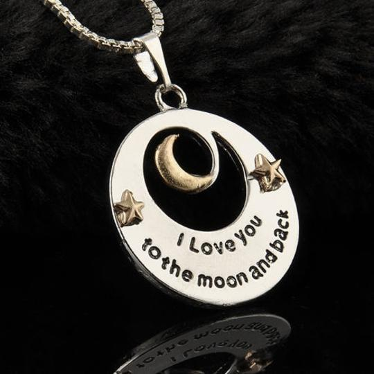 Bogo Free Love You To The Moon Necklace Free Shipping