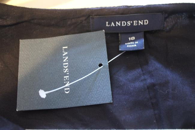 Lands' End short dress Navy Blue Summer on Tradesy