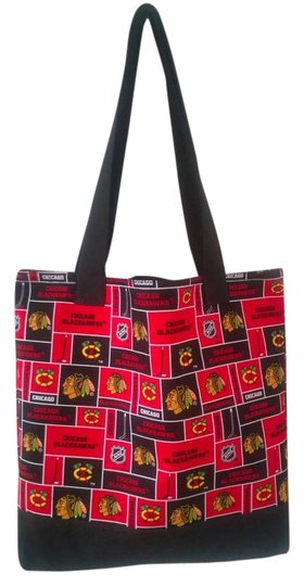 Other Handbag Handmade Chicago Tote in Black / Red