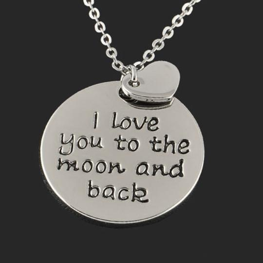 Bogo Free Silver Plated Engraved Necklace Free Shipping