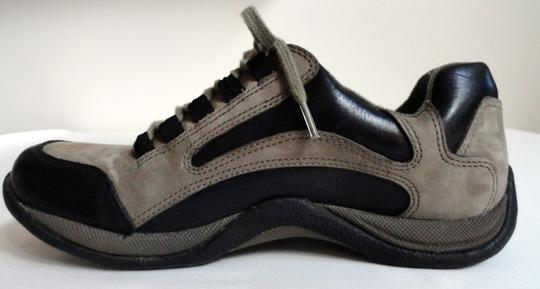Clarks Leather Sporty Black, stone Athletic