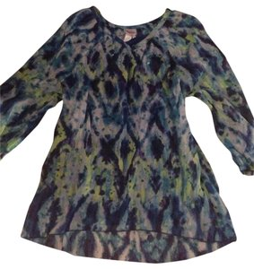 Justice Top Navy/green