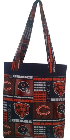 Other Chicago Bears Chicago Bears Handmade Tote in blue / orange