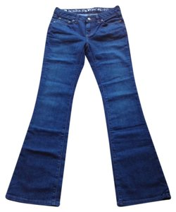 Boston Proper Boot Cut Jeans-Dark Rinse