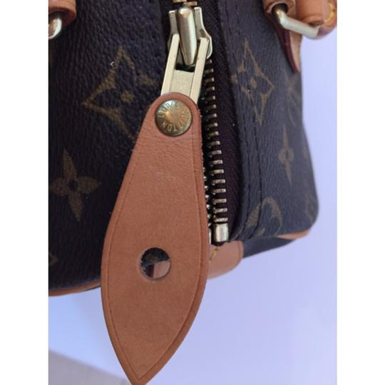 Louis Vuitton Satchel in Brown With LV Logo